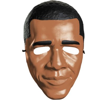 Adult Plastic Barack Obama Mask