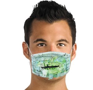 Toxic Zombie Surgical Mask