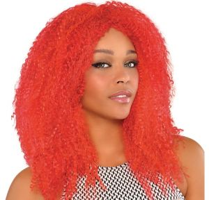 Fly Girl Red Wig
