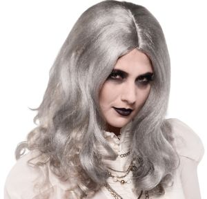 Zombie Woman Gray Wig