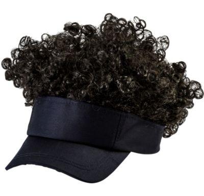 Black Afro Visor
