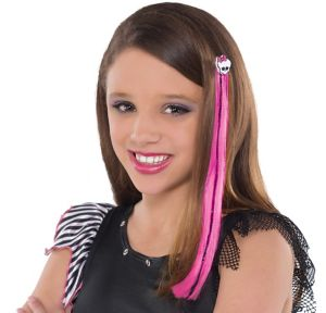 Monster High Skullette Hair Extension