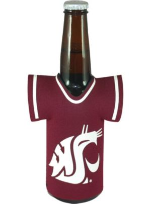 Washington State Cougars Jersey Bottle Coozie