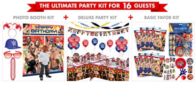 WWE Ultimate Party Kit for 16 Guests