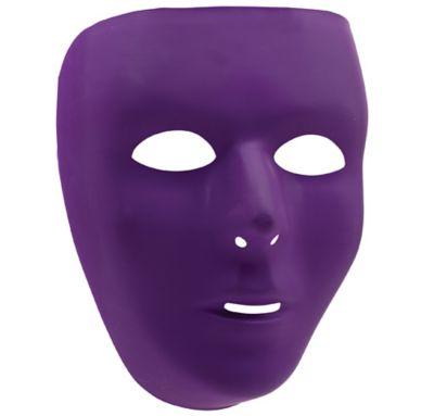 Basic Purple Face Mask