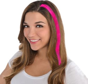 Pink Hair Extension 15in