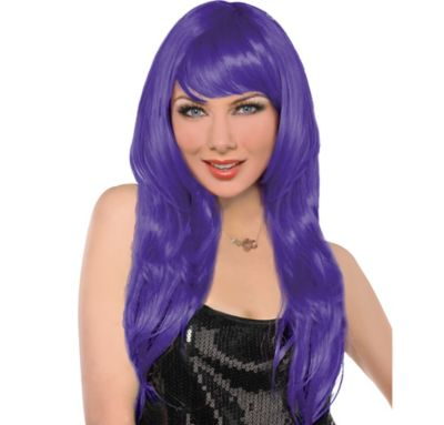 Glam Purple Wig