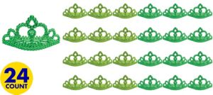 St. Patricks Day Metallic Tiaras 24ct
