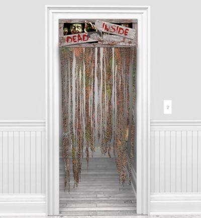 Biohazard Doorway Curtain 60in