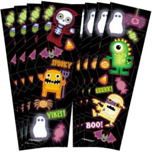 Boo Crew Stickers 8 sheets