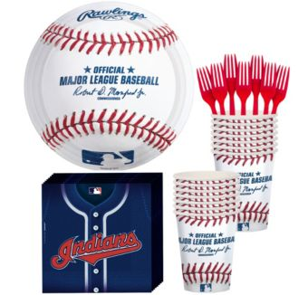 Cleveland Indians Basic Party Kit for 16 Guests