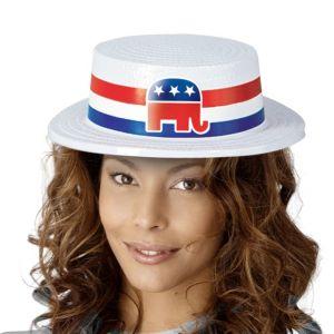 Republican Skimmer Hat