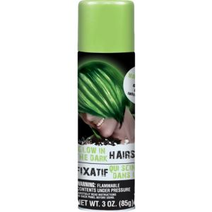 Glow in the Dark Hairspray