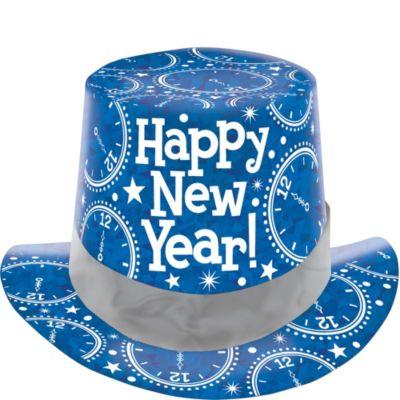 Prismatic Blue Top Hat