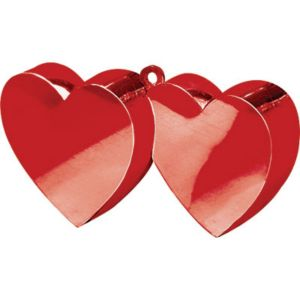 Double Heart Balloon Weight