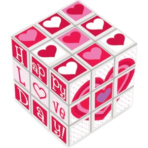 Valentine's Day Puzzle Cube