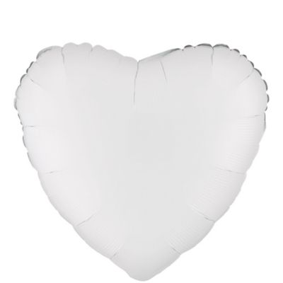 White Heart Balloon