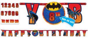 The Batman Birthday Banner 10 1/2ft