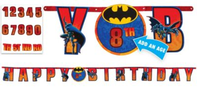 The Batman Birthday Banner 10 1/2ft