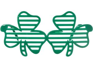 Shamrock Slotted Glasses