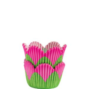 Wilton Mini Pink Petal Baking Cups 48ct