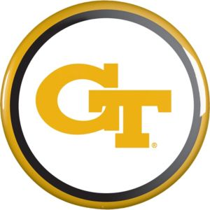 Georgia Tech Yellow Jackets Button