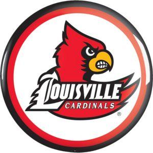 Louisville Cardinals Button