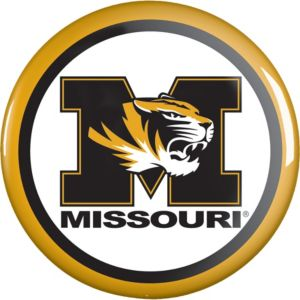 Missouri Tigers Button