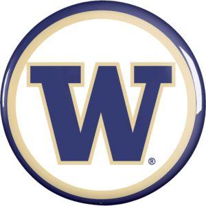 Washington Huskies Button