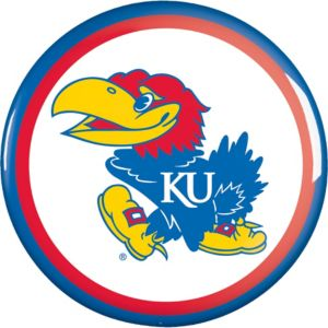 Kansas Jayhawks Button