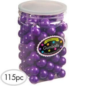 Purple Gumballs 115pc