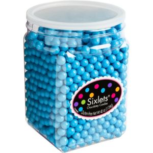 Caribbean Blue Chocolate Sixlets 1330pc