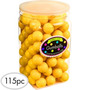 Yellow Gumballs 115pc