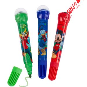 Mickey Mouse Roller Stamper Markers 3ct