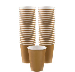 BOGO Gold Paper Coffee Cups 40ct