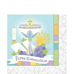 Joyous Communion Lunch Napkins 36ct
