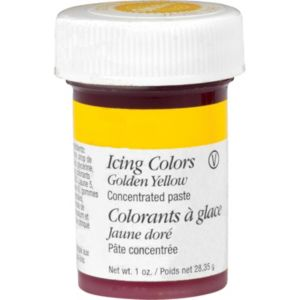 Golden Yellow Icing Color