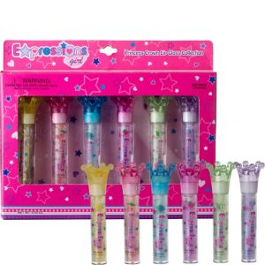 Princess Crown Lip Glosses 6ct