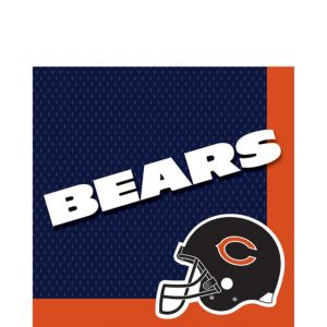 Chicago Bears Lunch Napkins 36ct