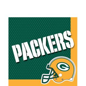 Green Bay Packers Lunch Napkins 36ct