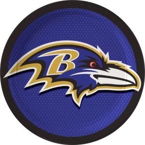 Baltimore Ravens Lunch Plates 18ct