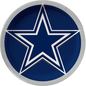Dallas Cowboys Lunch Plates 18ct