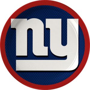 New York Giants Lunch Plates 18ct