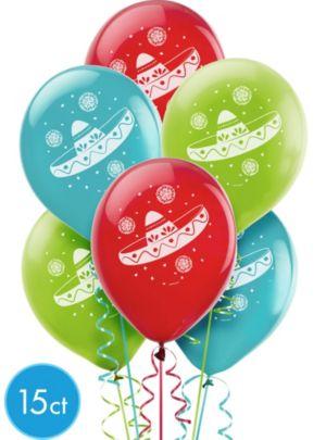 Sombrero Balloons 15ct
