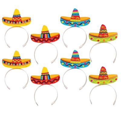 Sombrero Headbands 8ct
