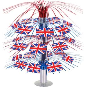 Union Jack Cascade Centerpiece - Great Britain