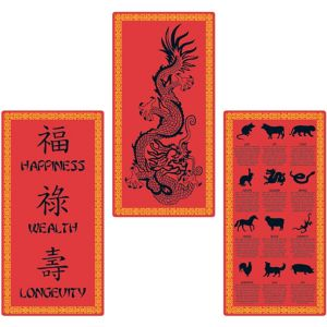Chinese New Year Cutouts 3ct
