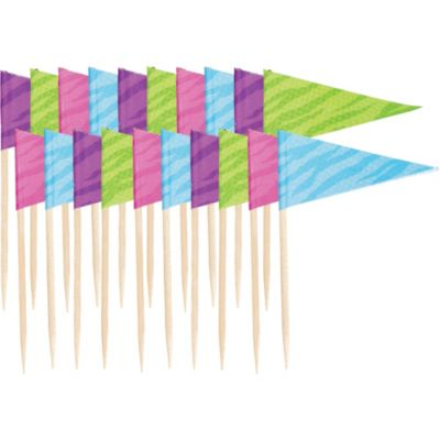 Colorful Flag Cocktail Picks 20ct