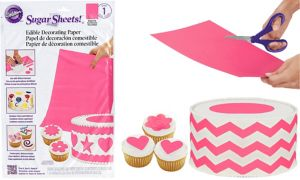 Bright Pink Sugar Sheet