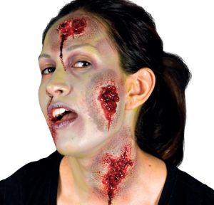 Oozing Wound Prosthetics 3pc